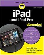 Vente Livre Numérique : IPad and iPad Pro For Dummies  - Edward C. BAIG - Bob LEVITUS - Bryan Chaffin