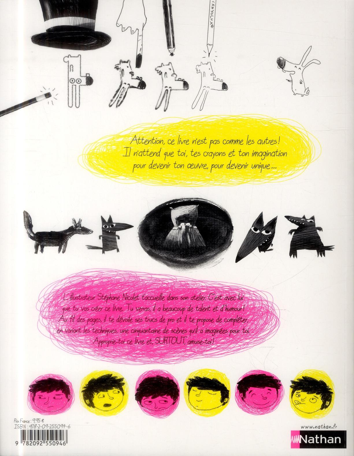 Ton livre à dessiner