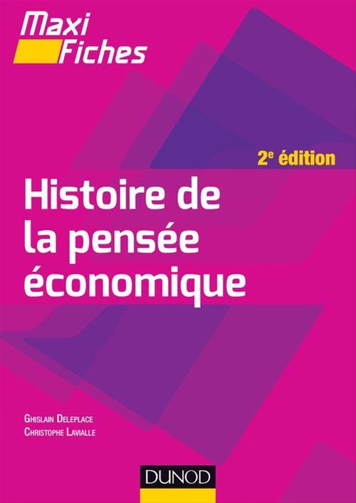 maxi fiches ; histoire de la pensée économique