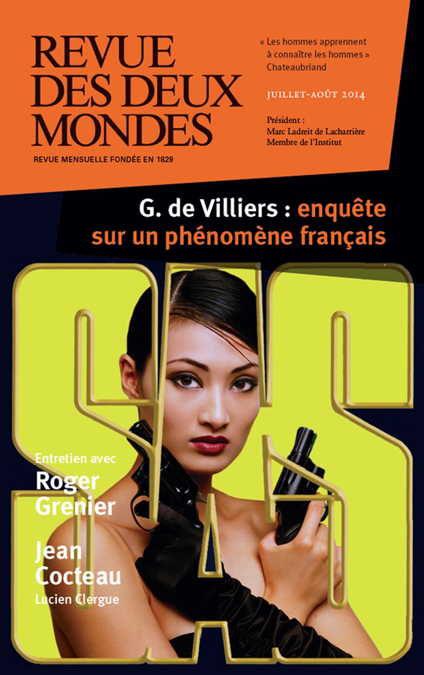 REVUE DES DEUX MONDES ; revue des deux mondes, juillet / aout 2014