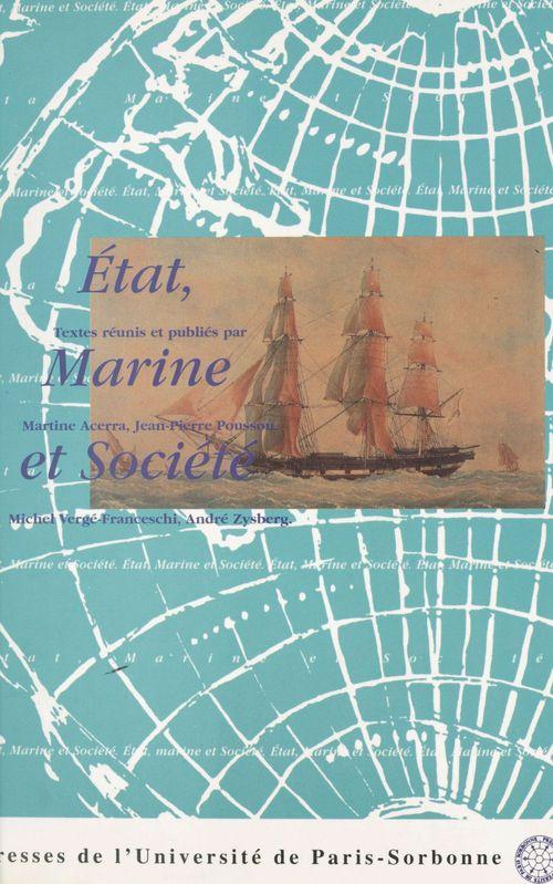 Etat marine et societe