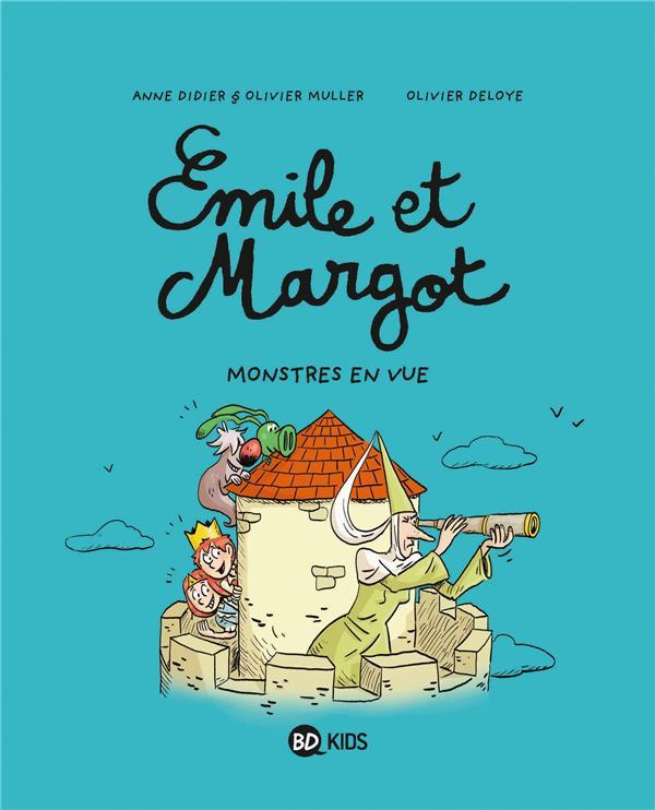 EMILE ET MARGOT, TOME 08 - MONSTRES EN VUE ! DIDIER/MULLER/DELOYE