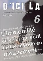Vente EBooks : D'ici là, n°6  - Pierre MENARD