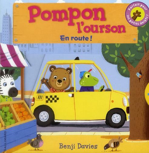 Pompon l'ourson ; en route !