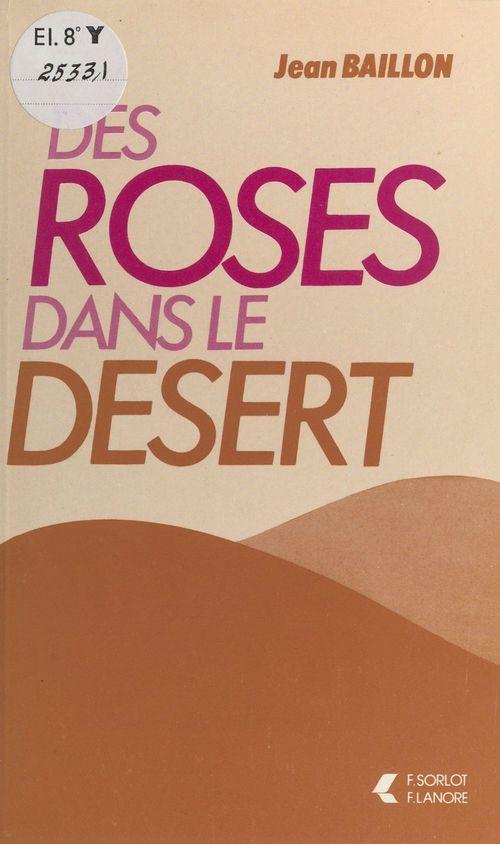Des roses dans le désert