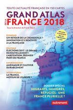 Vente Livre Numérique : Grand Atlas de la France 2018  - . Collectif - Frank Tétart