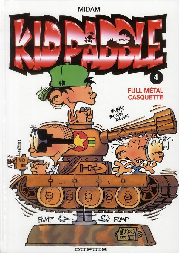 KID PADDLE T.4  -  FULL METAL CASQUETTE MIDAM