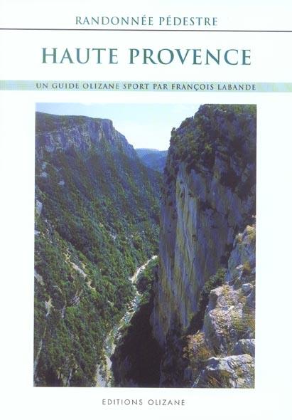 Randonnée pédestre Haute-Provence