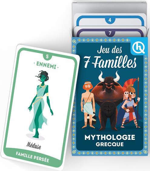 Jeu des 7 familles ; mythologie grecque