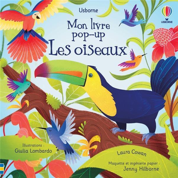 Les oiseaux : mon livre pop-up