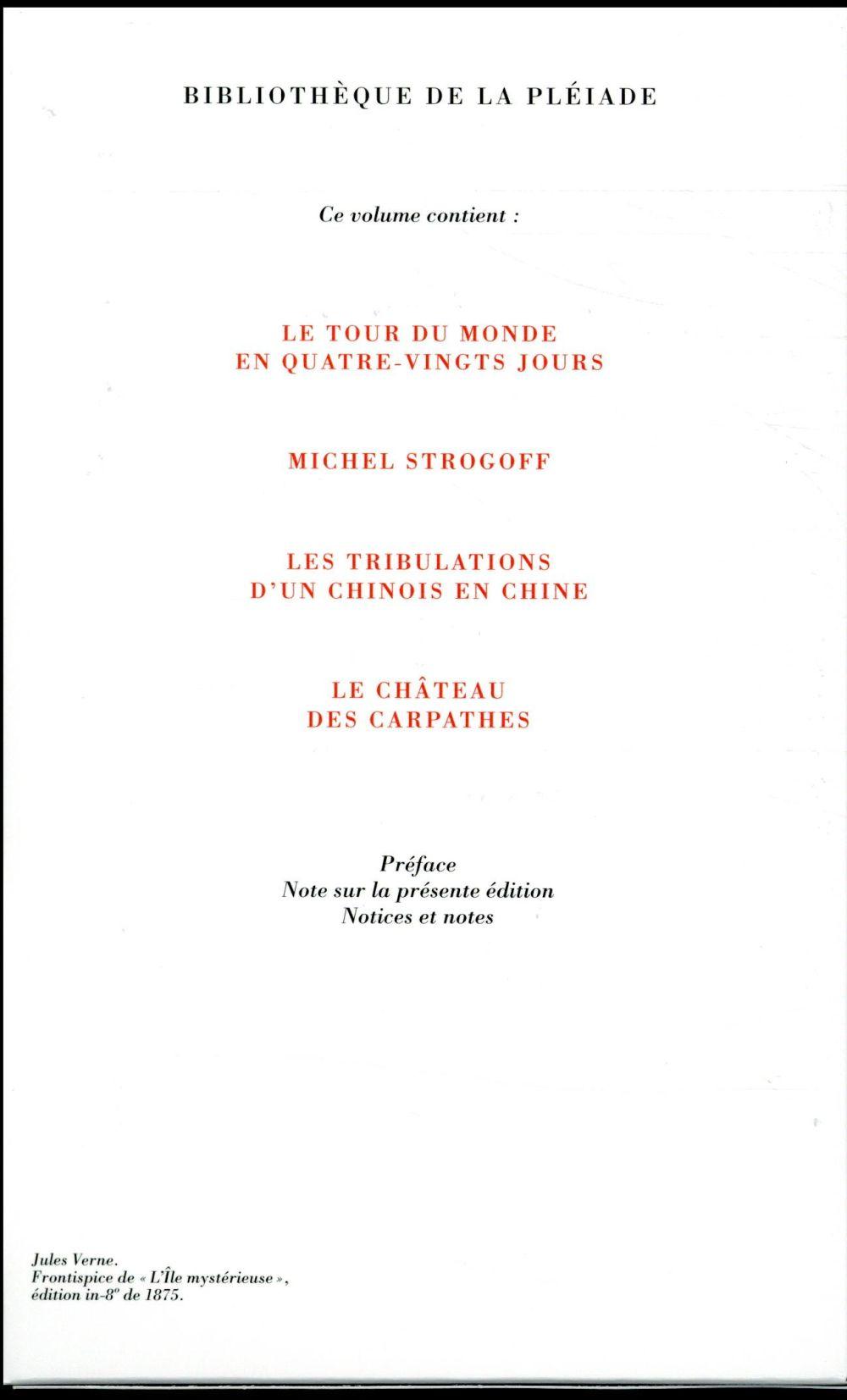 Voyages extraordinaires ; Michel Strogoff et autres romans