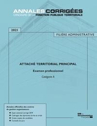 Attaché territorial principal 2021 ; examen professionnel ; catégorie A