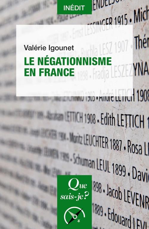 Le négationnisme en France