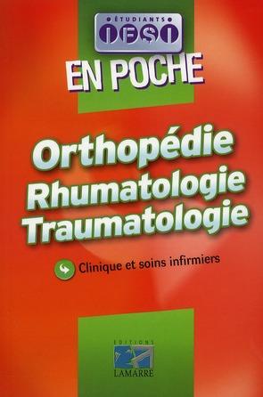 Orthopedie Rhumatologie Traumatologie