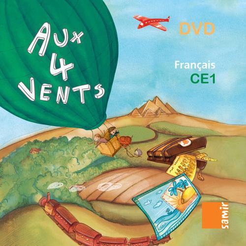 Aux 4 Vents; Francais ; Ce1 ; Dvd