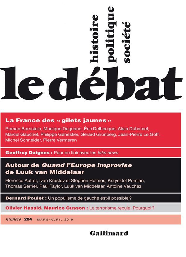 Revue le debat ; mars - avril 2019