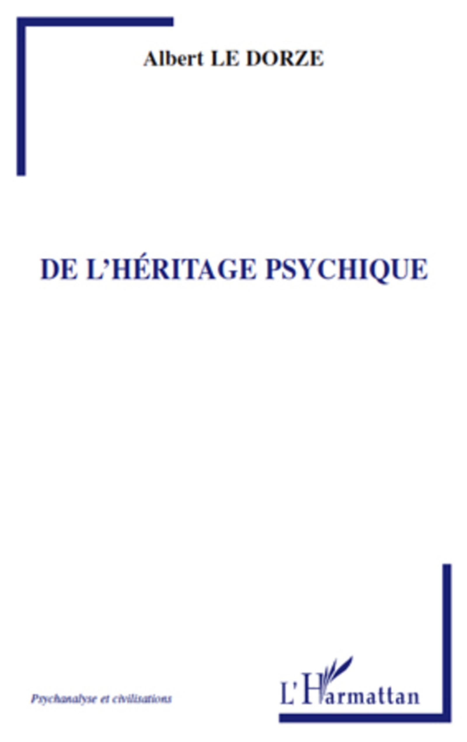 De l'héritage psychique