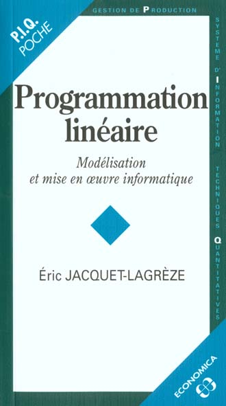 Programmation Lineaire
