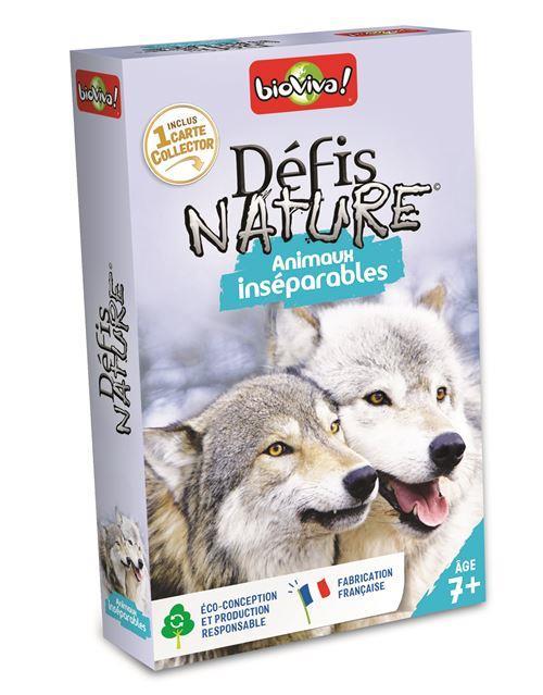 DEFIS NATURE ; animaux inséparables