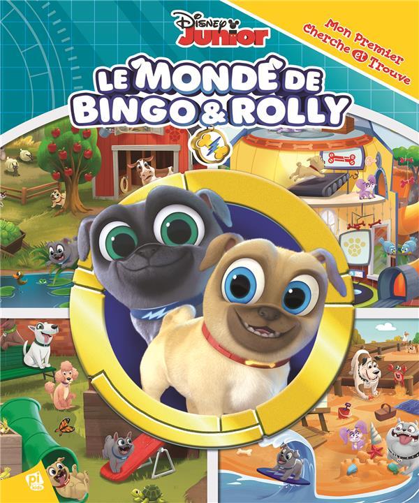 Mon premier cherche et trouve ; le monde de Bingo & Rolly