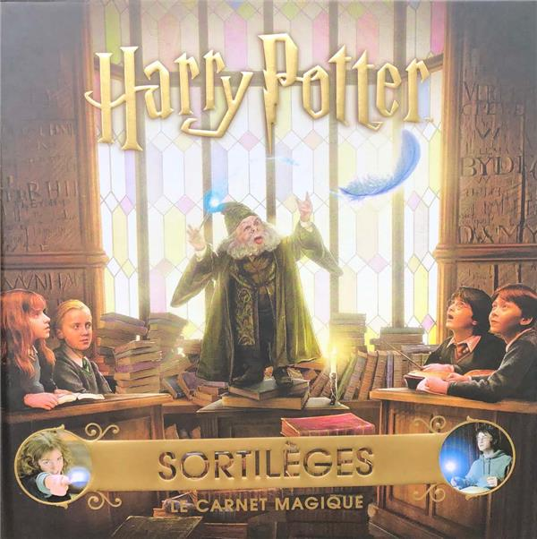 Harry Potter ; sortilèges ; le carnet magique