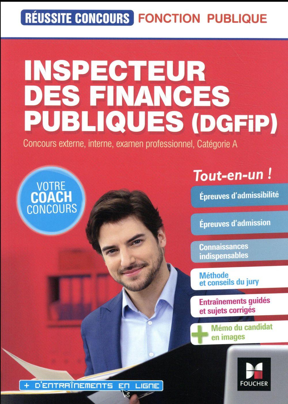 réussite concours ; inspecteur DGFIP (édition 2018/2019)