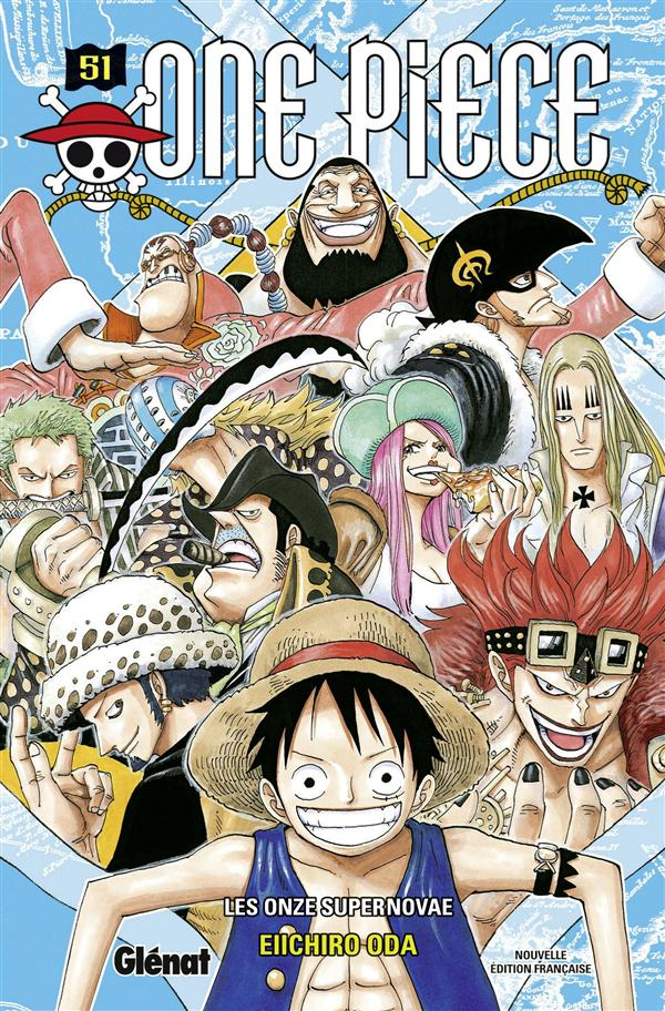 One Piece T.51 ; Les Onze Supernovae