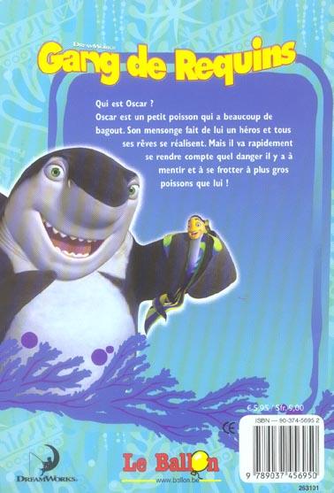 Gang de requins ; le roman