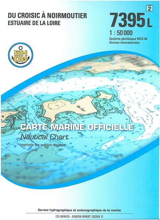du Croisic à Noirmoutier, estuaire de la Loire ; 7395L (3e édition)