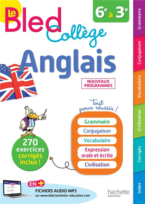 BLED ; anglais collège