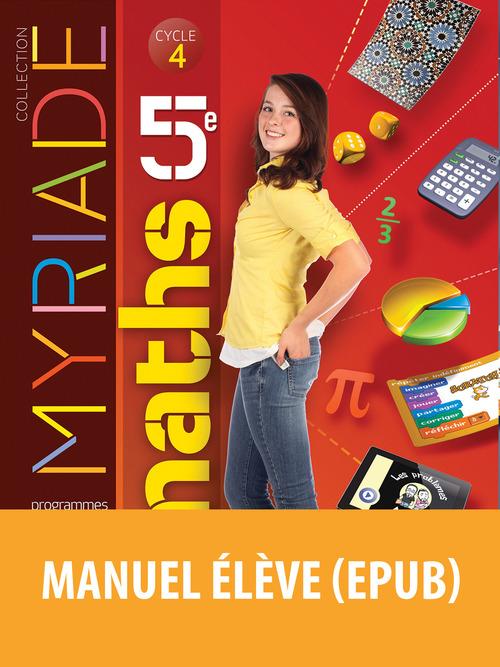 Myriade - Mathématiques 5e