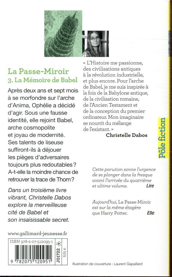 La Passe-miroir T.3 ; la mémoire de Babel