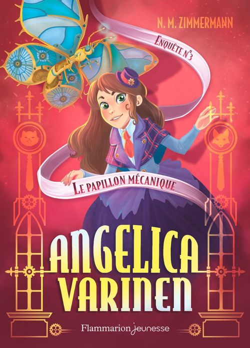 Angelica Varinen (Enquête N°3) - Le papillon mécanique