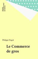 Vente Livre Numérique : Le Commerce de gros  - Philippe Dugot