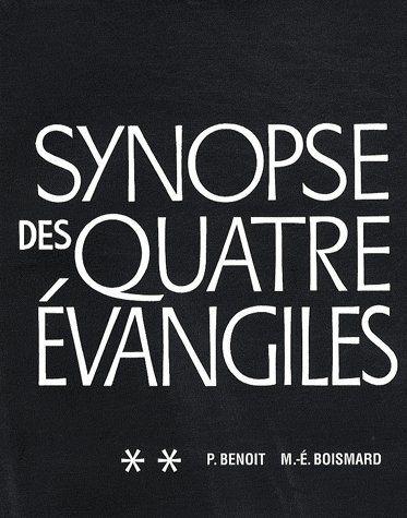 synopse des quatre évangiles t.2