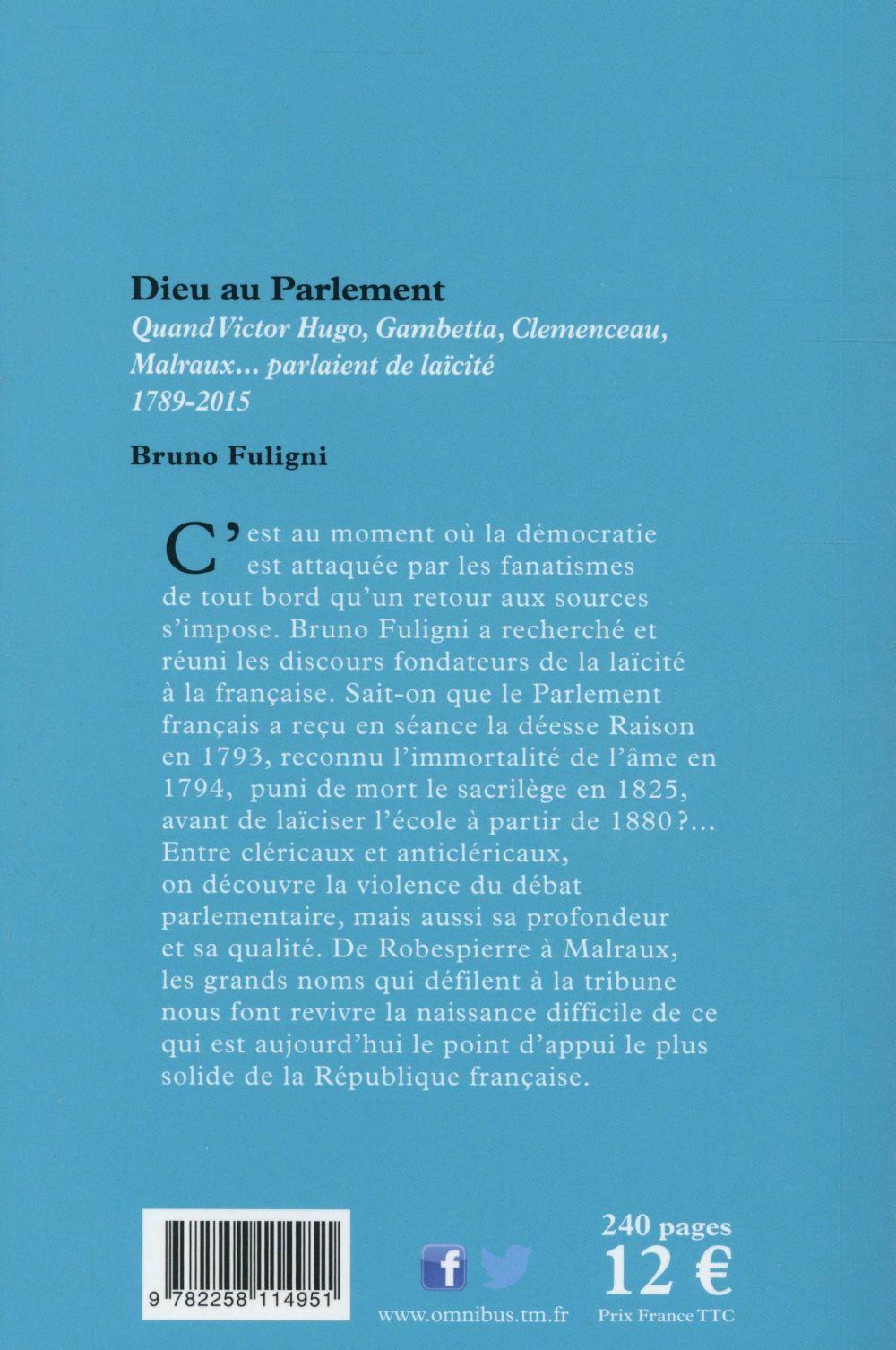 Dieu au parlement
