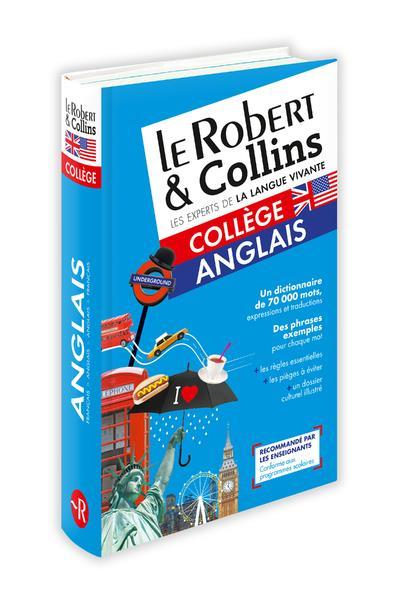 Dictionnaire Le Robert & Collins ; collège ; anglais (édition 2018)
