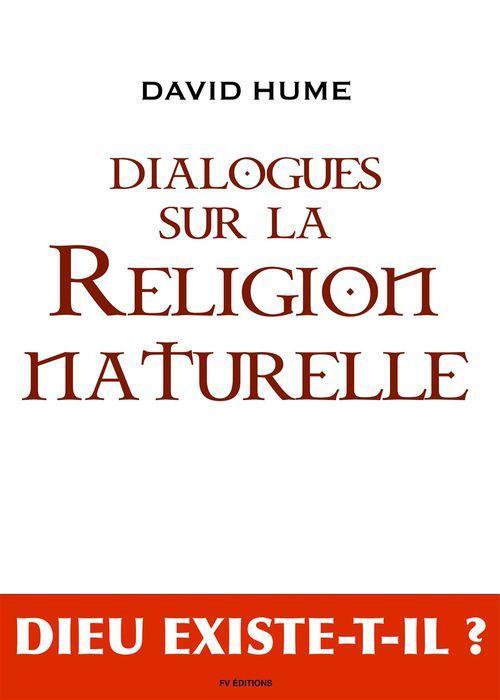 Dialogues sur la religion naturelle, le déisme, évolution de la théologie