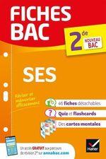 Fiches bac SES 2de  - Sylvain Leder - Francois Porphire