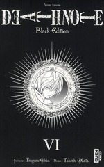 Couverture de Death Note Black Edition - Tome 6