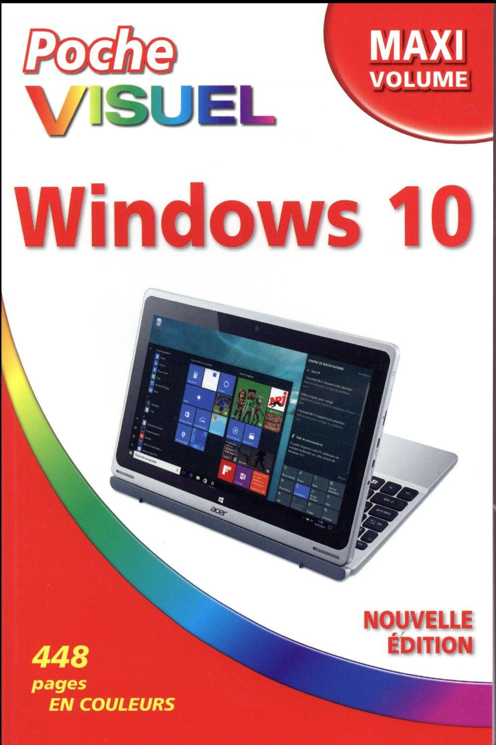 McFedries Paul - POCHE VISUEL WINDOWS 10 MAXI VOLUME