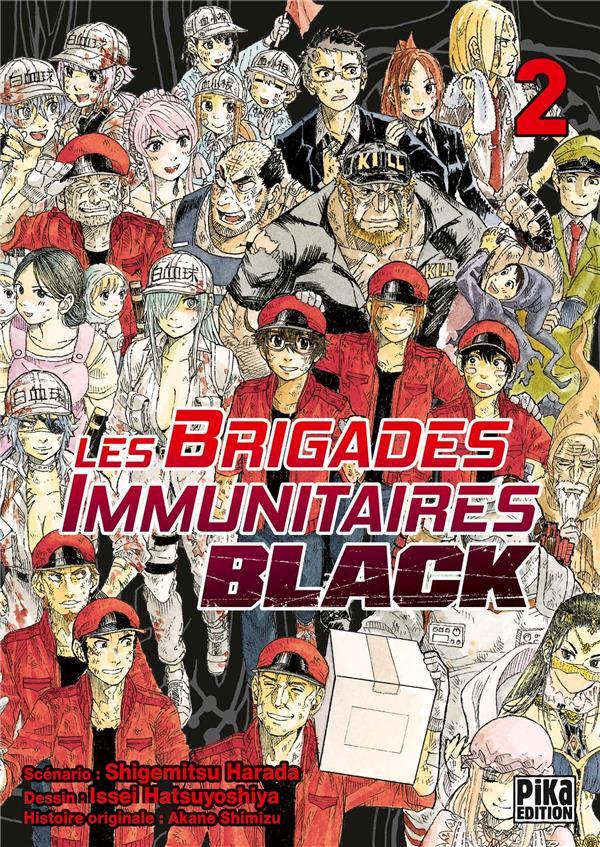 Les Brigades Immunitaires - Black T.2