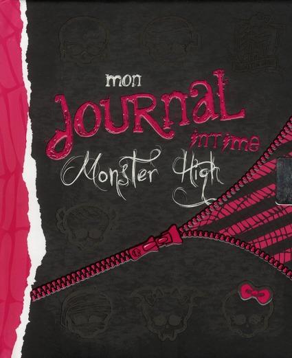 Monster High ; Mon Journal Intime