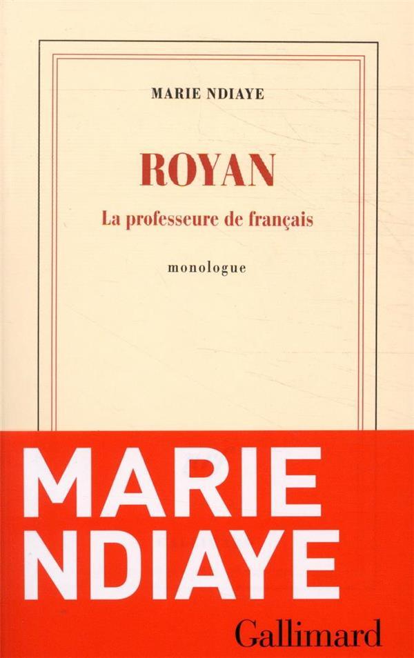 Royan ; la professeure de français