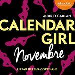 Calendar Girl - Novembre  - Audrey Carlan