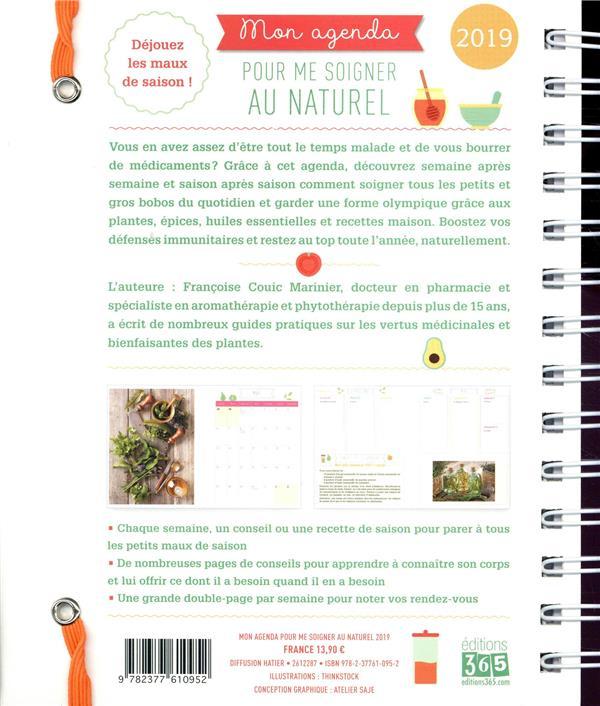 Mon agenda pour me soigner au naturel (édition 2019)