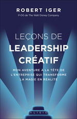 Vente EBooks : Leçons de leadership créatif  - Robert Iger
