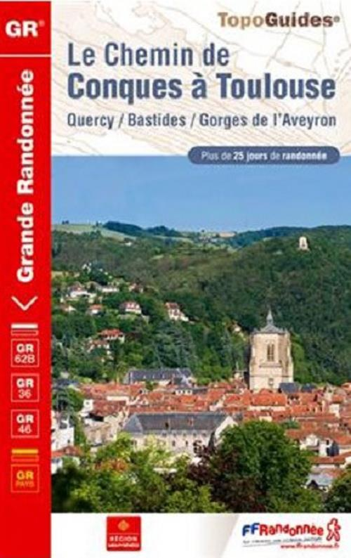 Le chemin de Conques à Toulouse ; 12-31 - GR - 3646