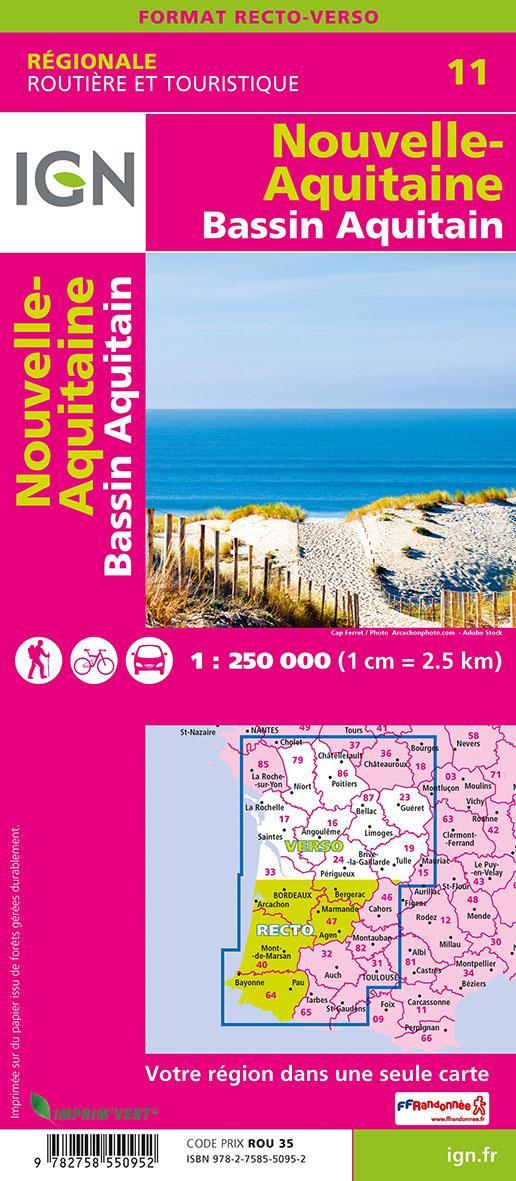 NR11 ; Nouvelle-Aquitaine, Bassin aquitain (2e édition)