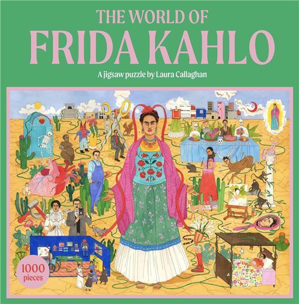 the world of frida kahlo a jigsaw puzzle